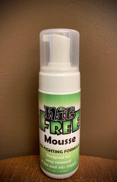 Nit-Free Two-in-One Mousse