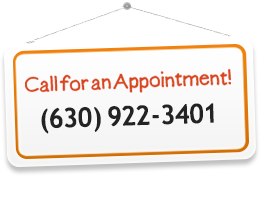 Call for An Appointment in Naperville: 630-922-3401